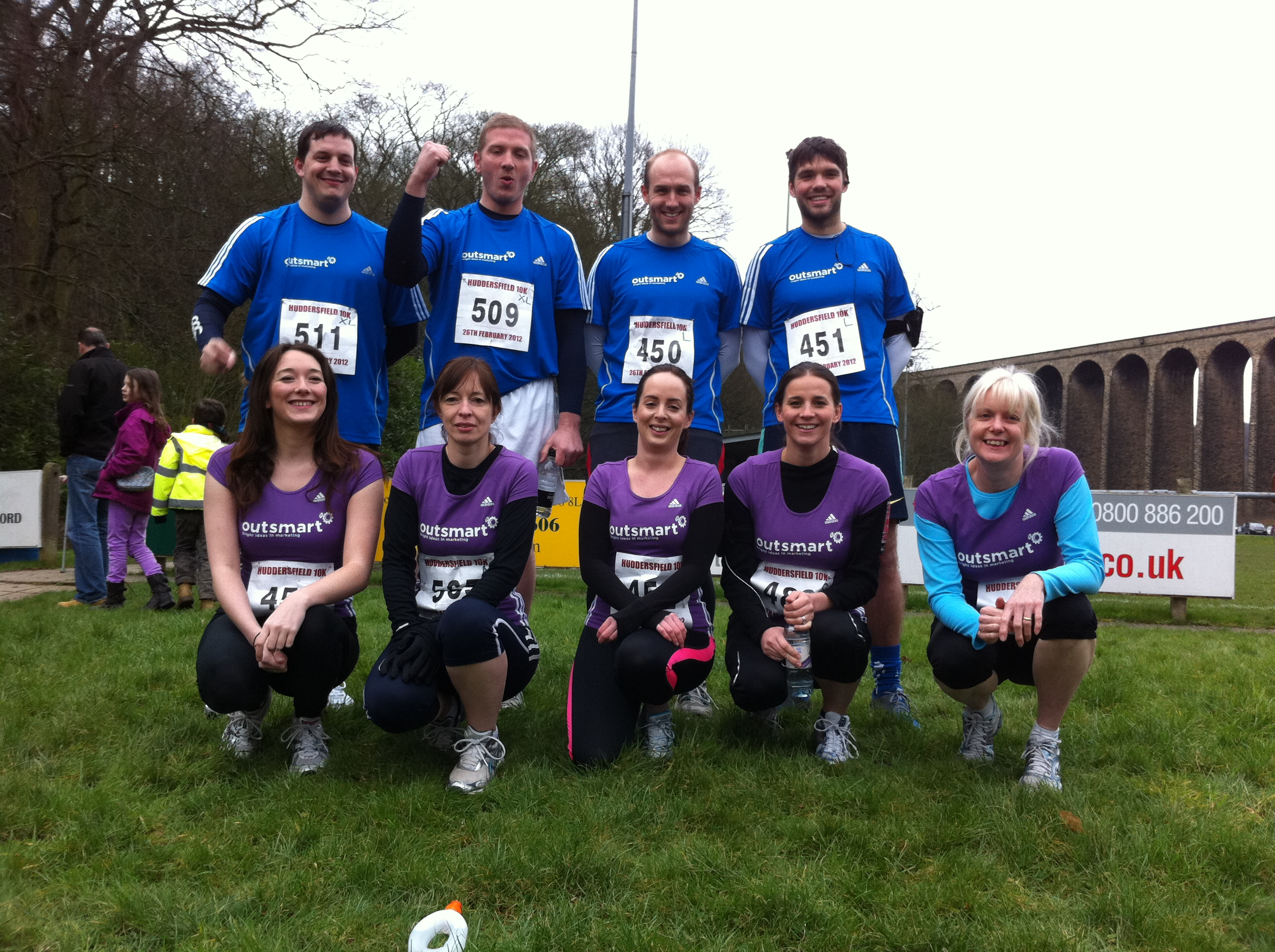 Team Outsmart Huddersfield 10k