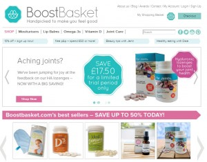 Boost Basket Page