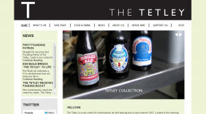 The Tetley website