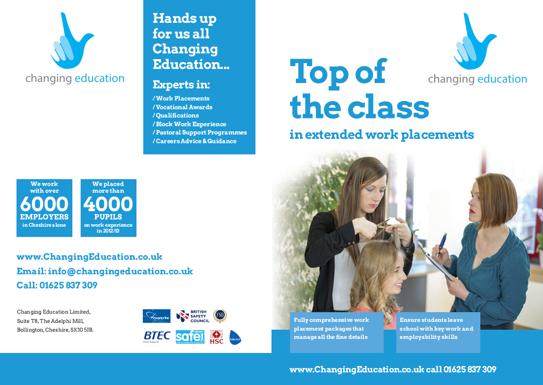 Outsmart Changing Education Brochure Cover